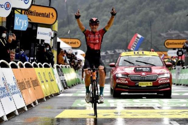 Tour de France: Dylan Teuns remporte la 8e étape, Tadej Pogacar en jaune après un numéro en solitaire