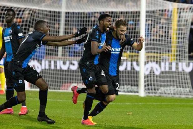 """Jupiler Pro League - Le Club Bruges fête son sacre par un """"match virtuel pour le titre"""" gagné 16-0"""