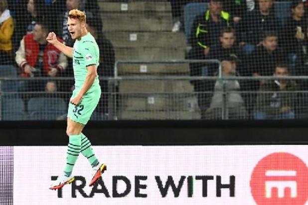 Europa League - Vertessen maakt eerste Europese doelpunt bij PSV, Januzaj levert assist bij Sociedad