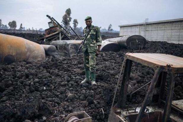 Tweede vulkaan uitgebarsten vlak bij de Nyiragongo