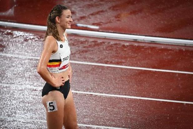 Paulien Couckuyt bat le record de Belgique en demie du 400m haies