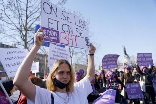 Journée internationale des droits des femmes - Manifestations en France à la veille de la Journée des droits des femmes