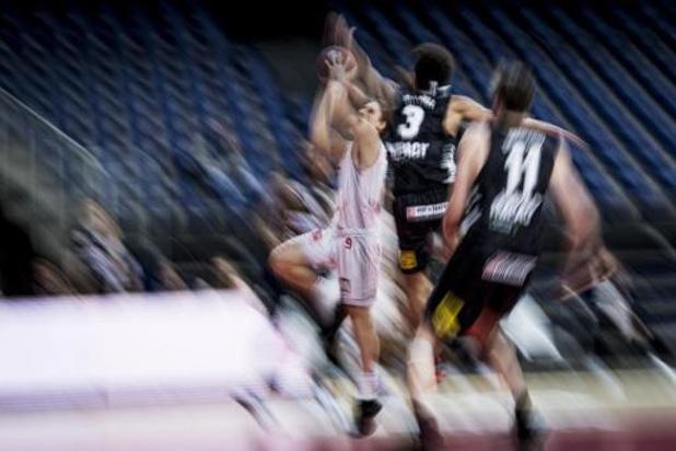 EuroMillions Basket League - Antwerp Giants maakt het verschil in de slotfase tegen Limburg United