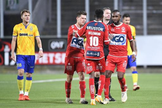 Faïz Selemani (Courtrai) risque quatre matches de suspension