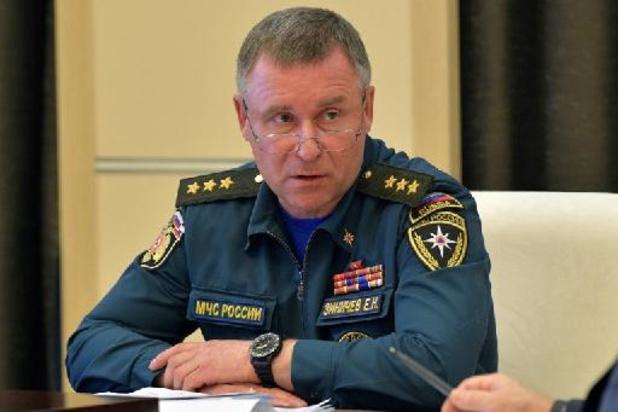Russische minister van Noodsituaties overleden tijdens oefening