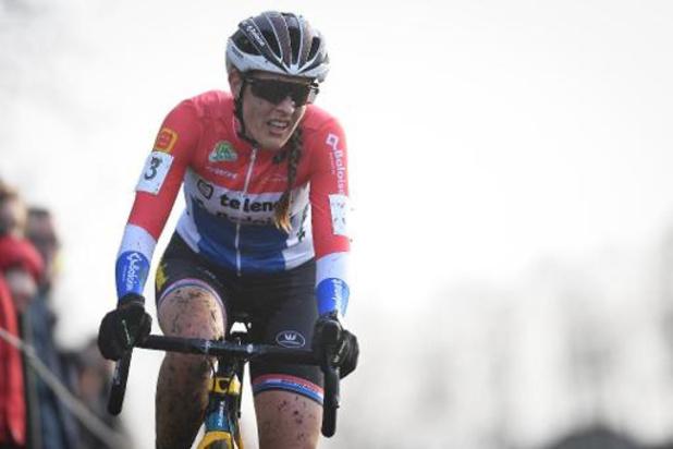 La Néerlandaise Lucinda Brand s'impose à nouveau à la Citadelle de Namur