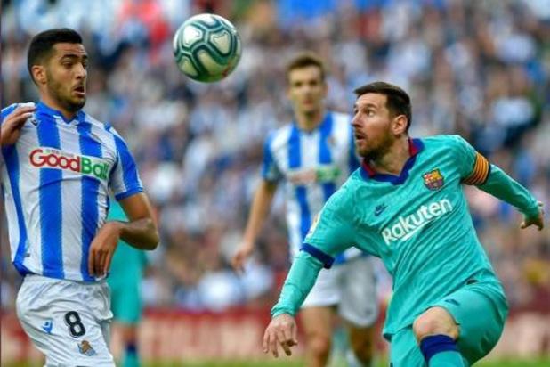 Belgen in het buitenland - Januzaj pakt met Real Sociedad knap punt tegen Barcelona