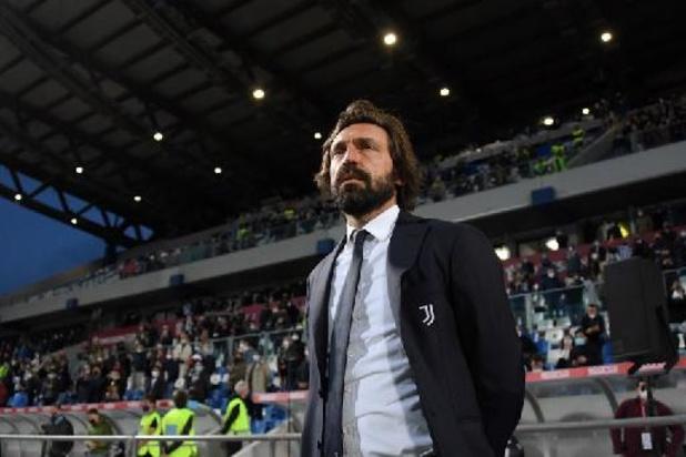 Andrea Pirlo n'est plus l'entraineur de la Juventus