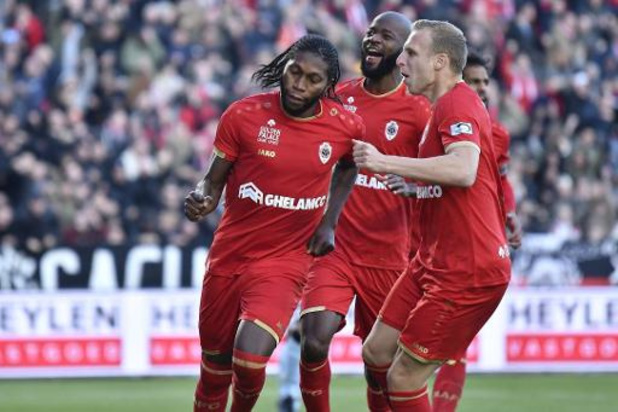 Club Brugge loopt op Antwerp tegen eerste competitienederlaag aan
