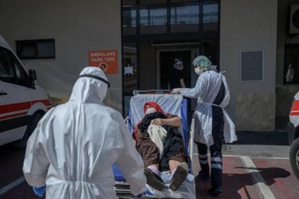 Coronavirus - Meer dan 10.000 sterfgevallen in Turkije
