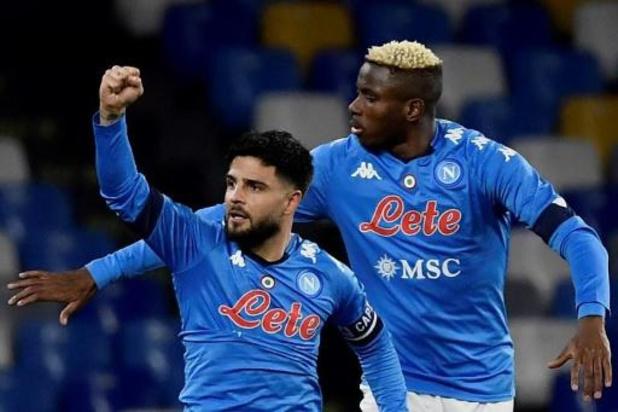 Serie A - Naples, sans Dries Mertens, bat la Juventus et se relance