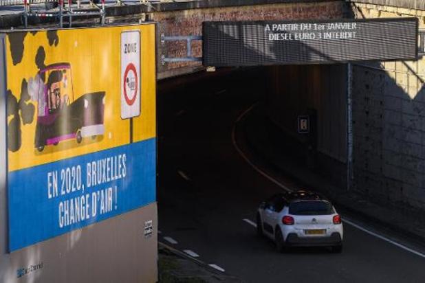 Nouveau le 1er juillet - Retour des amendes pour non respect de la zone basses émissions à Bruxelles