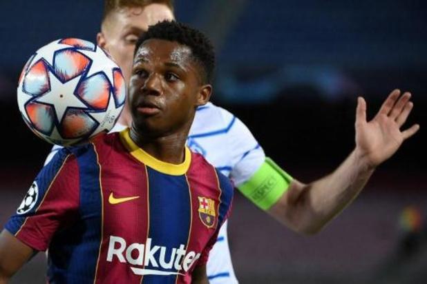 La Liga - FC Barcelone: fracture du ménisque du genou gauche pour Ansu Fati
