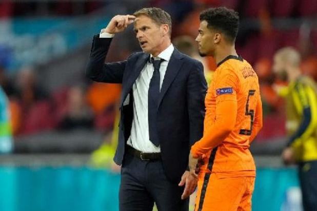 """EK 2020 - De Boer zag Nederland bijna zege weggeven: """"Goed leermoment"""""""
