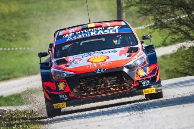 Thierry Neuville termine 3e du rallye de Croatie remporté par Sébastien Ogier