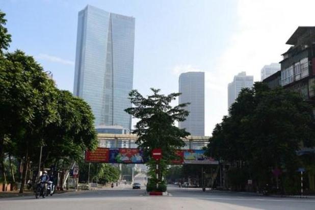 Lockdown in Vietnamese hoofdstad Hanoi