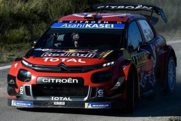 Sébastien Ogier quitte Citroën qui cesse immédiatement ses activités en rallyes WRC