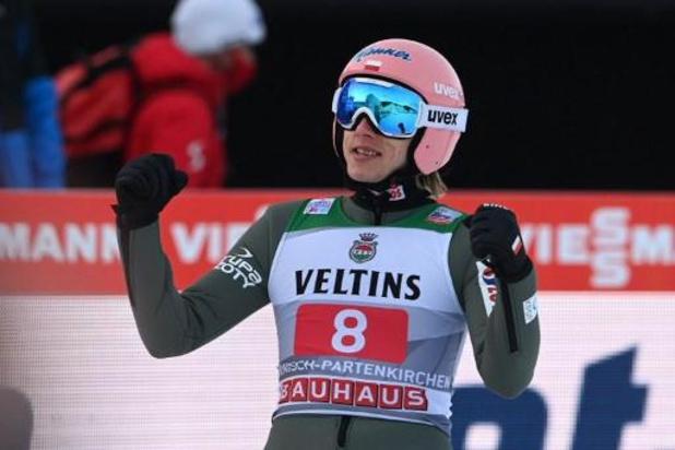 Le Polonais Dawid Kubacki, premier vainqueur 2021, s'impose à Garmirsch-Partenkirchen