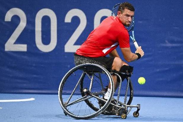 Jeux Paralympiques : Joachim Gérard en 8e de finale