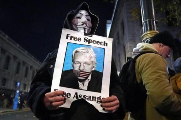 Leuvens actiecomité wil Julian Assange eren met straatnaam of ereburgerschap
