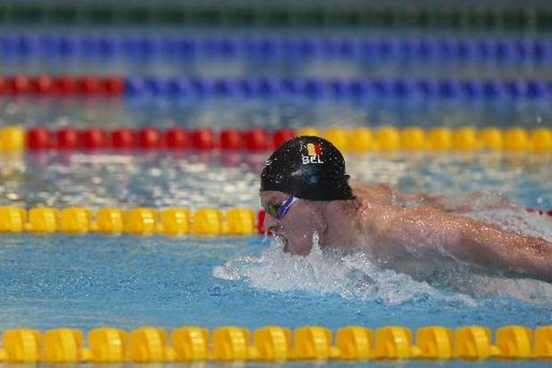 EK zwemmen - Louis Croenen sneuvelt in de halve finales van de 100 meter vlinderslag