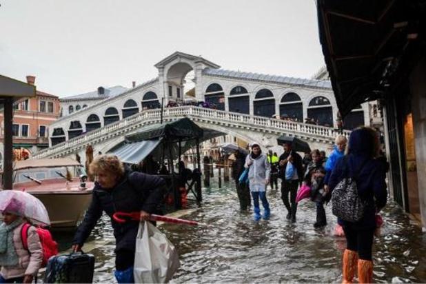 """Venise à nouveau victime de """"l'acqua alta"""""""