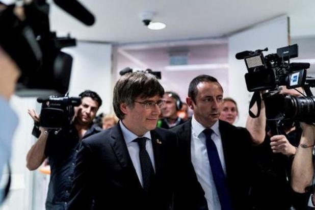 Puigdemont appelle à une réponse dans les urnes, lors des législatives du 10 novembre
