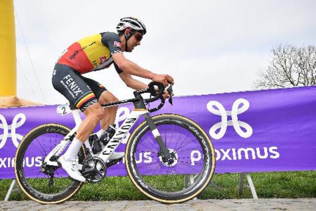 """Dries De Bondt sur le Tour d'Italie: """"Cinq et six, c'est un peu décevant"""""""