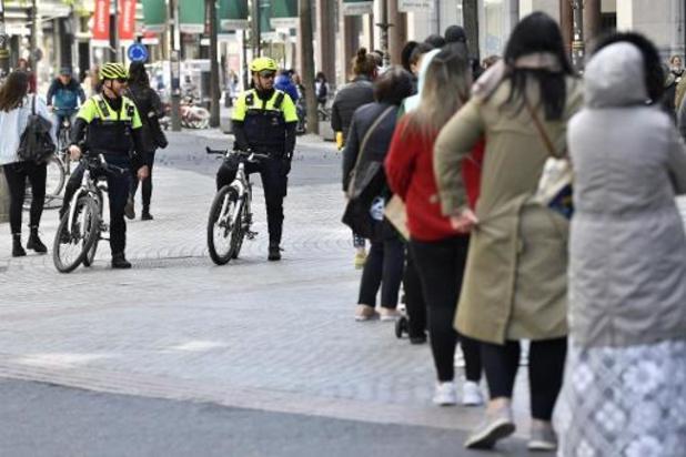 Antwerpse politie schrijft 257 boetes uit tijdens het weekend
