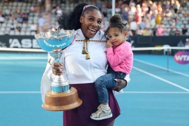 WTA Auckland - Serena Williams s'impose à Auckland, et décroche son premier trophée en près de 3 ans