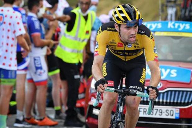 Tour de France - Tom Dumoulin a renoncé à ses espoirs de victoire personnelle dans le Tour