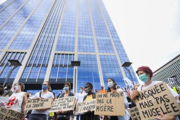 """Manifestations """"La santé en lutte"""" - """"Le droit de manifester est l'un des droits les plus fondamentaux en démocratie"""""""