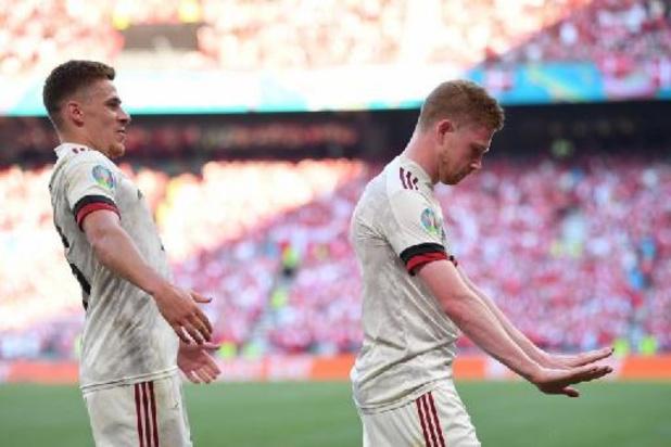 Ruim 1,8 miljoen tv-kijkers voor Duivels tegen Denemarken
