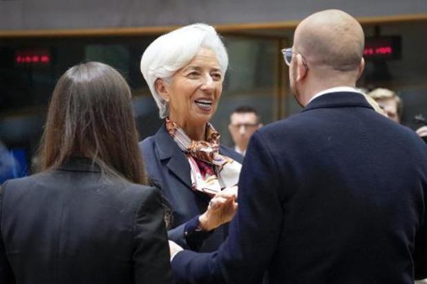 Christine Lagarde apprend l'allemand