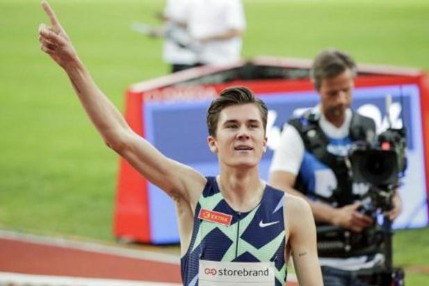 Diamond League Monaco - Jakob Ingebrigtsen onttroont Mo Farah als Europees recordhouder op de 1.500 meter