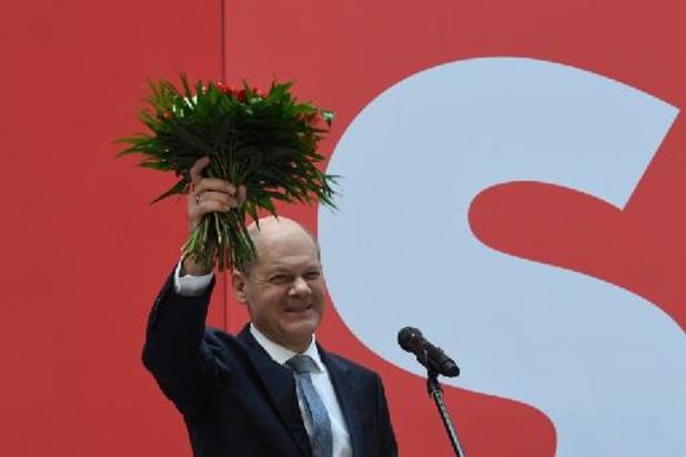 Olaf Scholz vindt dat CDU/CSU voor oppositie moet kiezen