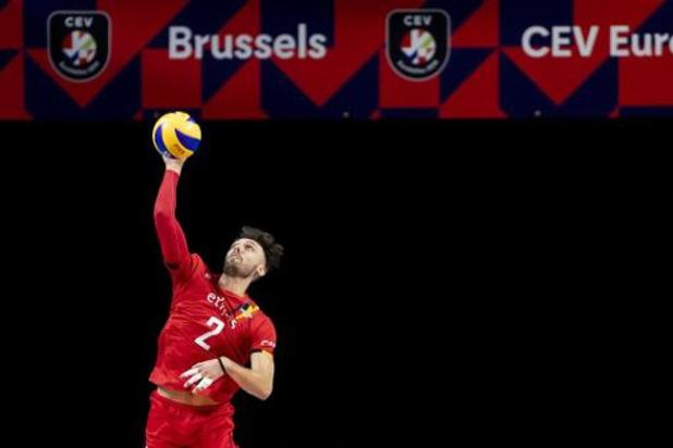 """EK volley (m) - Hendrik Tuerlinckx: """"Hopelijk zijn Duitsers nog niet hersteld van dreun"""""""