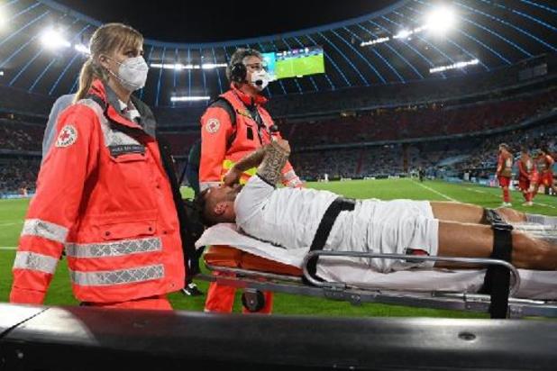 Rupture du tendon d'Achille confirmée pour l'Italien Spinazzola