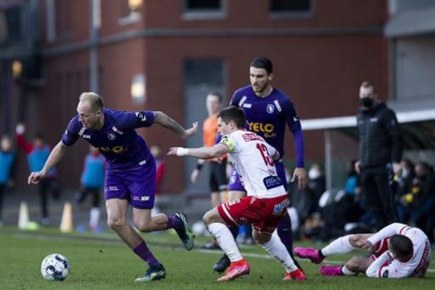 Jupiler Pro League - Après avoir mené 0-2, Mouscron est accroché de justesse au Beerschot