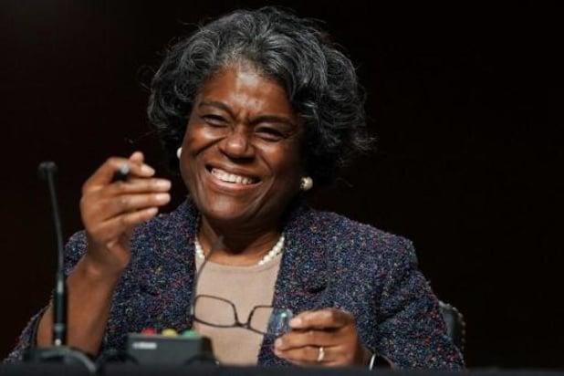 Amerikaanse Senaat benoemt Linda Thomas-Greenfield als VN-ambassadeur