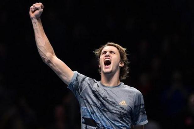 ATP Finals - Titelverdediger Alexander Zverev naar halve finales, Rafael Nadal uitgeschakeld