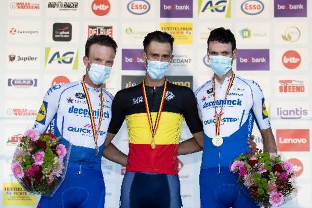 Championnat de Belgique de cyclisme - La course au maillot noir-jaune-rouge s'annonce très ouverte à Waregem