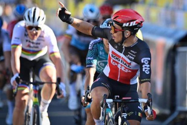 Langste rit voor het peloton in Tour de France