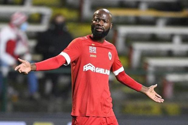 Didier Lamkel Zé misdraagt zich opnieuw bij Antwerp