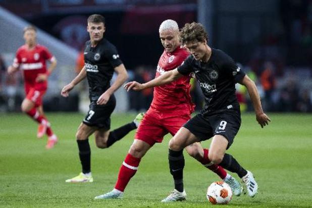 Europa League - L'Antwerp s'incline face à Francfort dans le temps additionnel