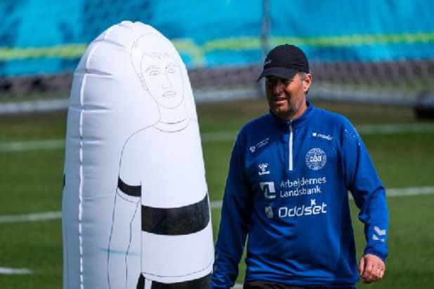 """Christian Eriksen suivra le match depuis l'hôpital"", assure Kasper Hjulmand"