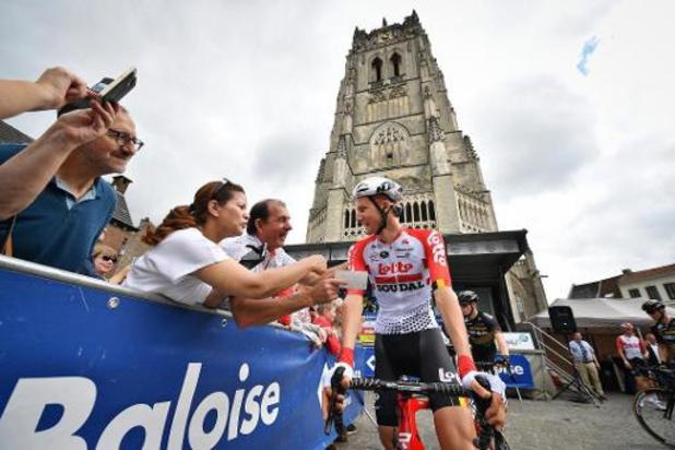 Le parcours complet du Baloise Belgium Tour est connu pour l'épreuve en juin