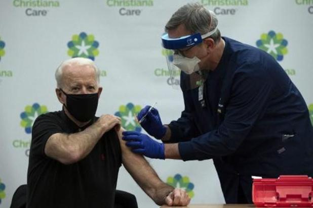 Joe Biden heeft tweede dosis coronavaccin binnen