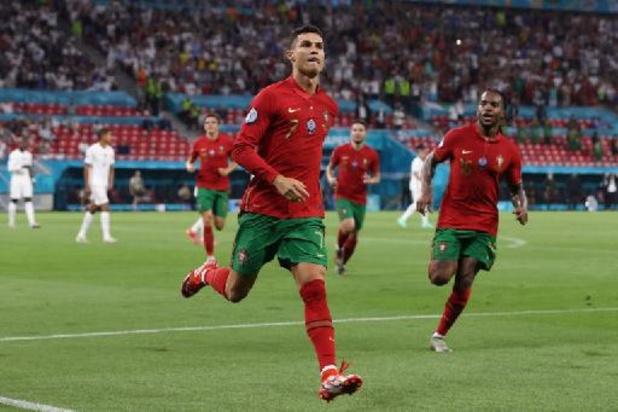 Euro 2020 - 109e but en sélection du Portugais Ronaldo, qui égale le record de l'Iranien Ali Daei