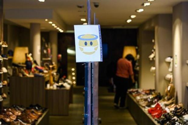 NSZ ontgoocheld dat shoppen met twee pas vanaf maandag kan